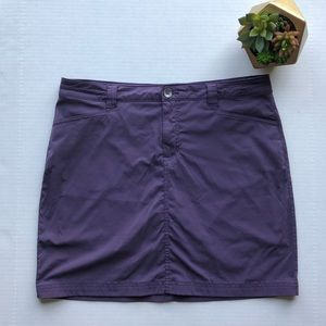 Eddie Bauer Purple Travex Hiking Skort Size 10